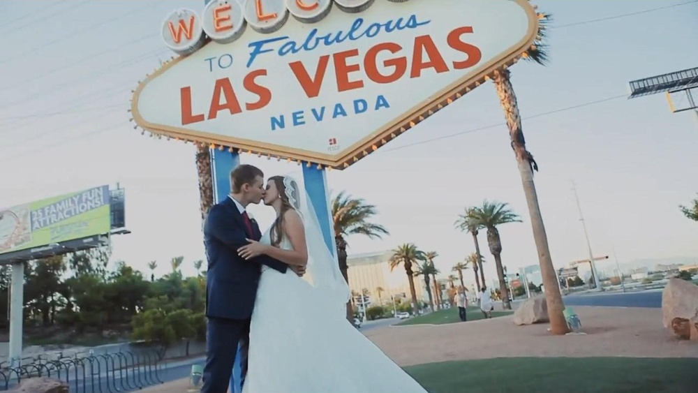 Las Vegas Wedding. Peter & Daria